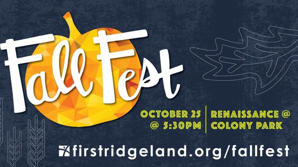 Fall Fest in Ridgeland MS on October 25, 2017