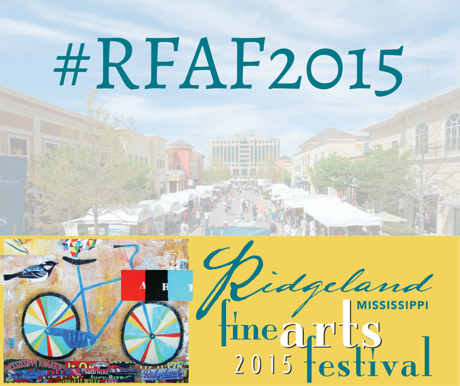 Hashtag #RFAF2015 at the event!