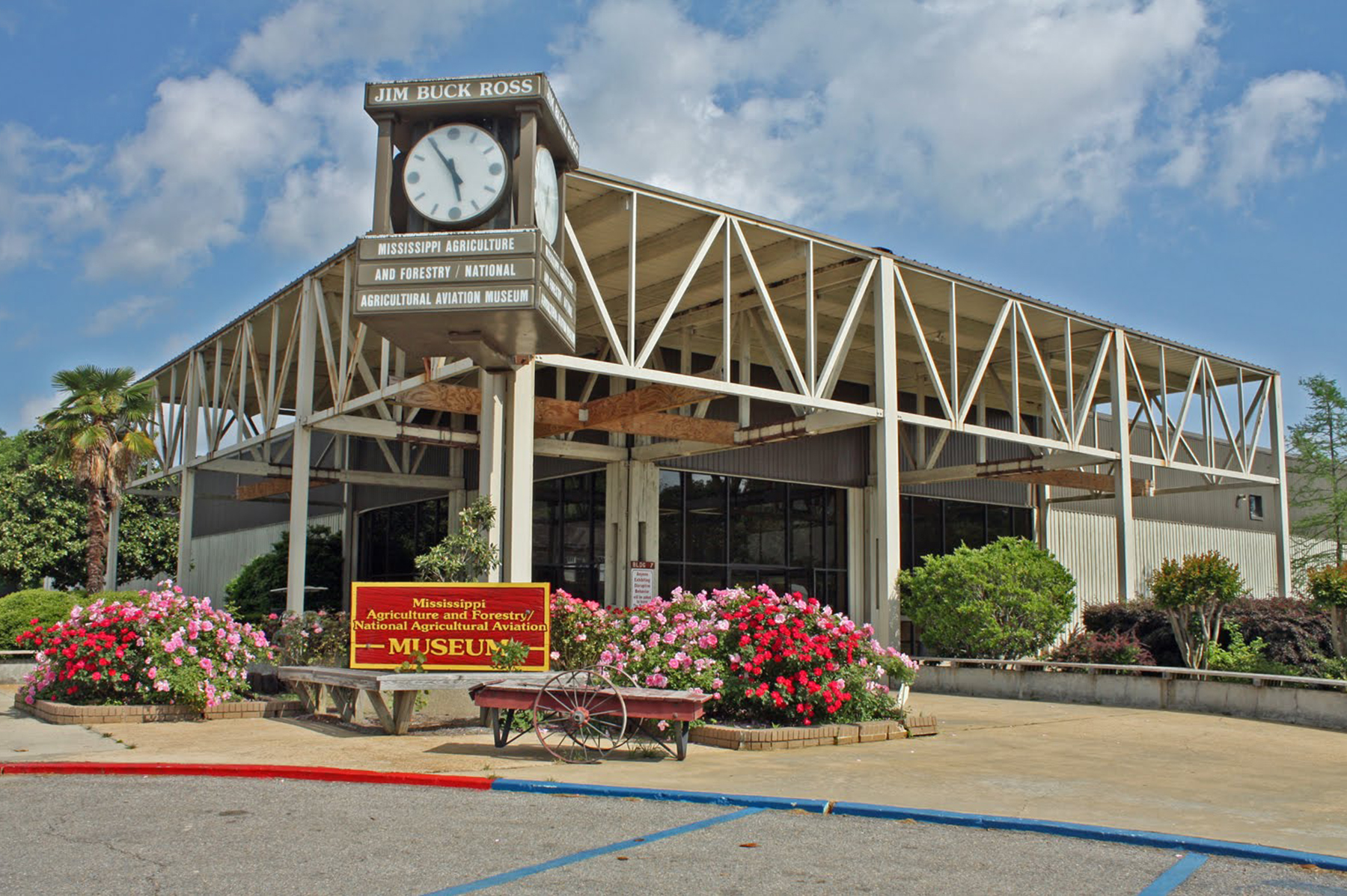 Mississippi Agriculture and Forestry Museum in Jackson MS