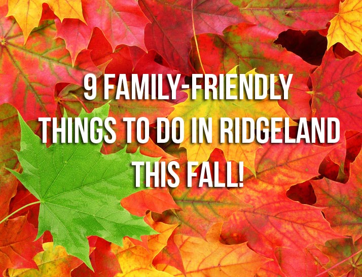 9 Family-Friendly Things to Do in Ridgeland This Fall