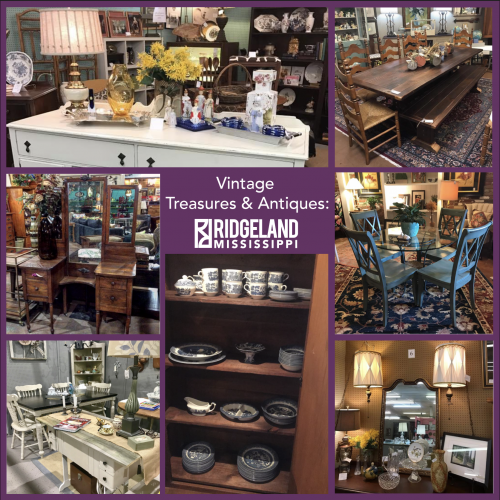 Antique and Vintage Shops in Ridgeland MS