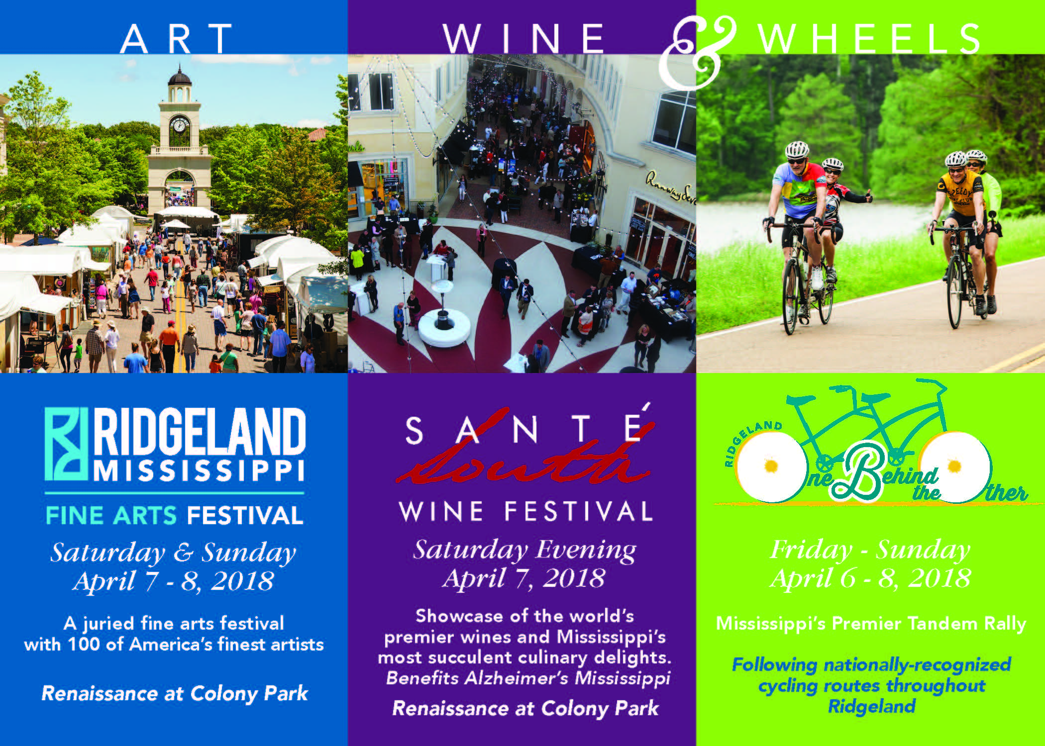 Art Wine & Wheels Weekend April 2018 Ridgeland MS