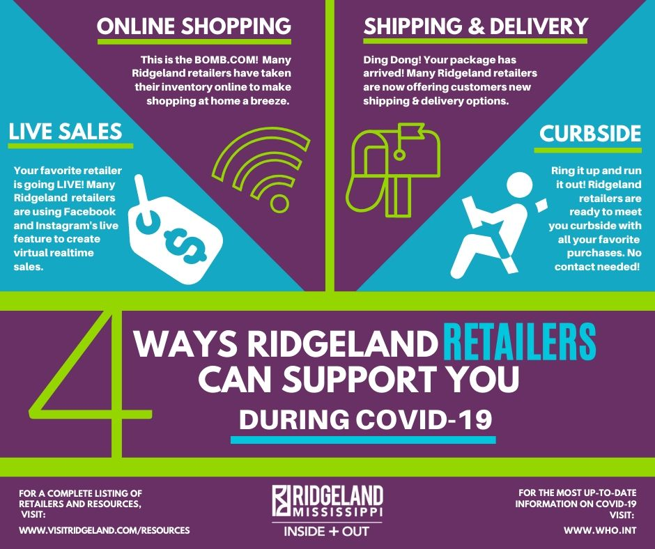 Ridgeland Retail Shop COVID 19 Services