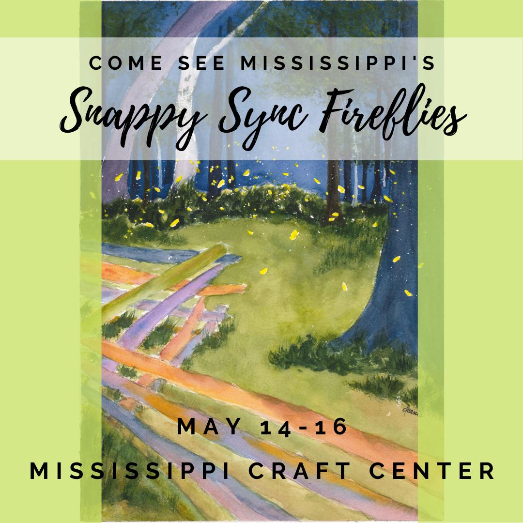 Snappy Sync Fireflies - Ridgeleand, MS